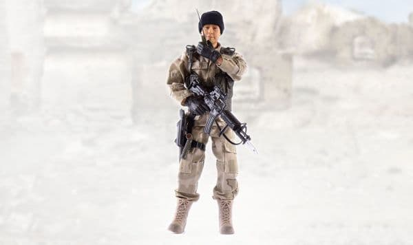 World Peacekeepers Ranger 12in Poseable Army Action Toy Figure  3+Yrs